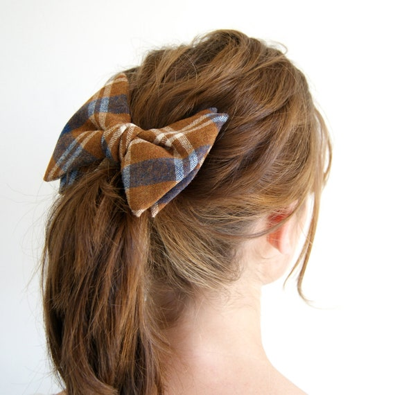how to wear a bow tie in your hair