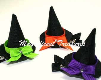 3D Witch Hat Hair Clip