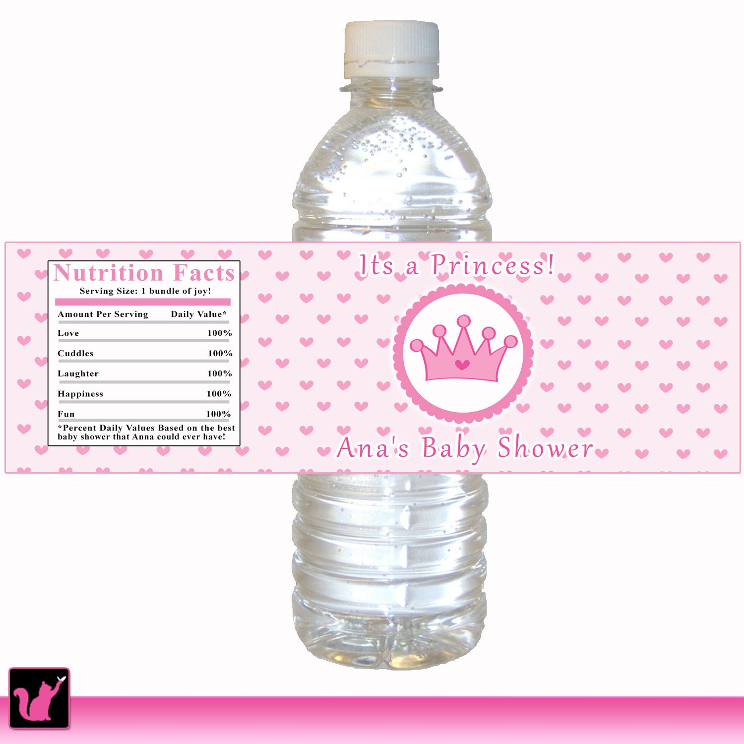 Influential image intended for printable water bottle labels