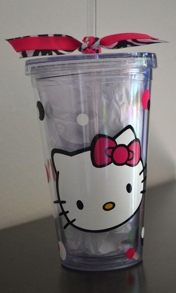 Hello Kitty Custom Double Insulated Tumbler