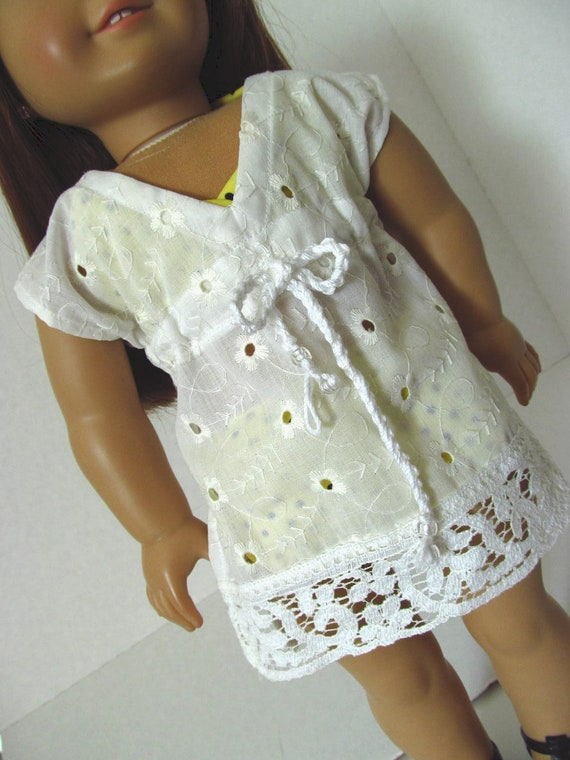 Eyelet  Coverup, American Girl Doll Clothes