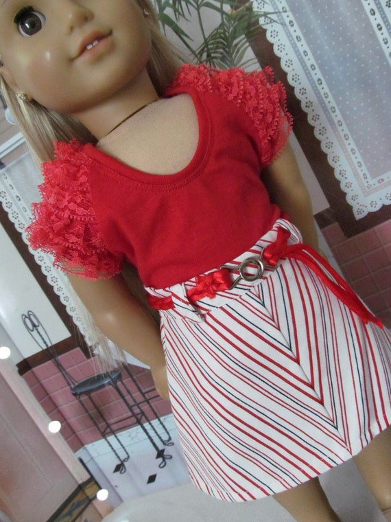 Julie Style,  Summer Set  , American Girl Doll Clothes