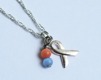 Selective Mutism Awareness Necklace - Sterling Silver