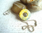 Metal Washer Woodland Necklace