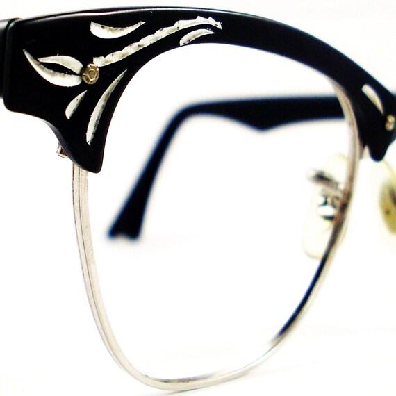 Vintage 50s Frame Cat Eye Glasses Eyeglasses Sunglasses Glasses