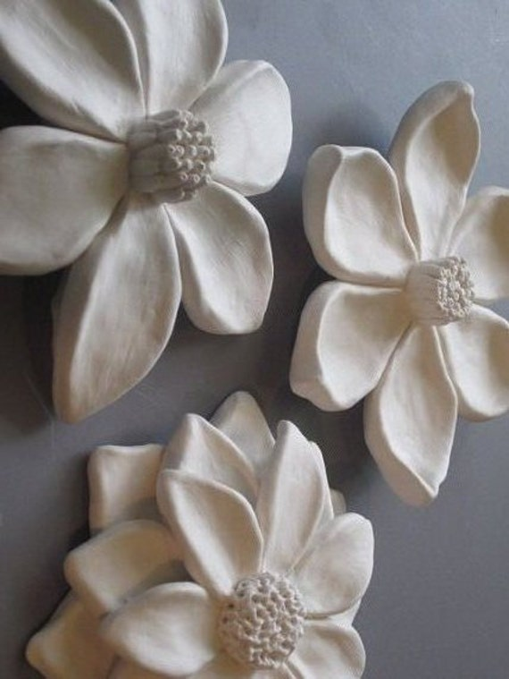 Ceramic Wall Flowers Flower Garden Wall Hanging