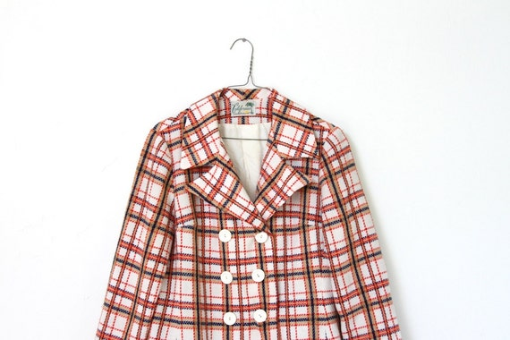 SALE plaid party blazer
