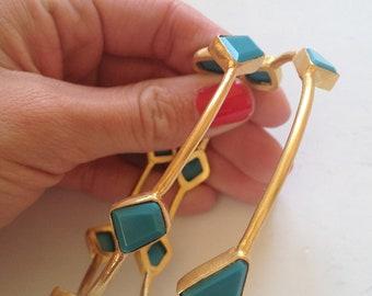 Copper Stone Bracelet