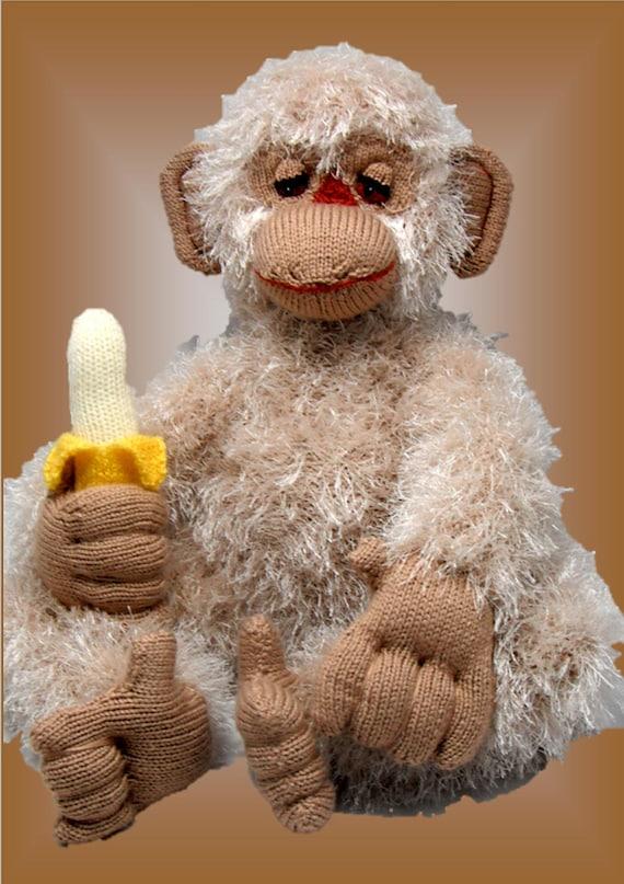 Morris Monkey - Original Toy Knitting pattern