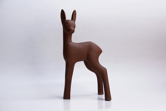 Ceramic Tall  Deer Sculpture - Karlsruhe 60s