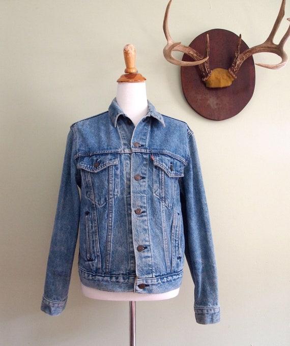 Vintage Levis Denim Jean Jacket Small / Medium