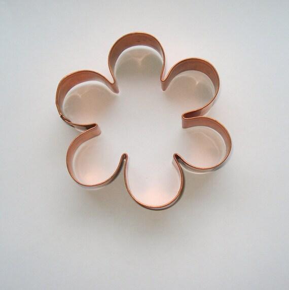 Copper Flower Cookie Cutter