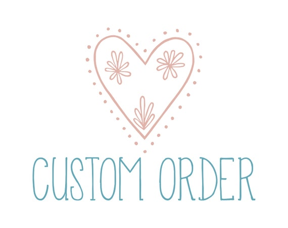 Reserved: Custom Listing for Leilani from DeliciousMe