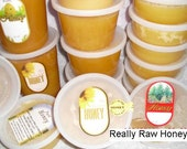 12 oz Organic Really Raw Honey,  Naturally Granulated Mountain Wildflower Pure Honey
