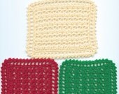 Crocheted Dollhouse Blanket Cream