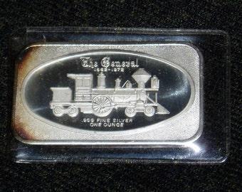 "Vintage Silver Art Bar, ""The General"" Error Bar, 1972"