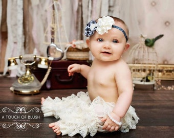 VINTAGE BOWTIQUE BEAUTY Headband - Preemie to Adult Sizes Available