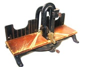 Vintage Tools Miller Falls Mitre Miter Box Antique Cast Iron