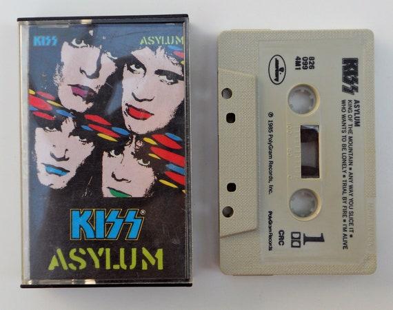 1980's Kiss Asylum Cassette
