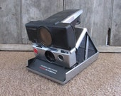 Vintage SX70 Polaroid Folding Instant Film Camera TIme Zero Auto Focus Use New Film from The Impossible Project