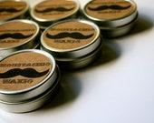 Moustachio Waxio - // Vegan // Movember // Organic Mustache Wax - 1oz - // Eco-friendly // Petroleum-free