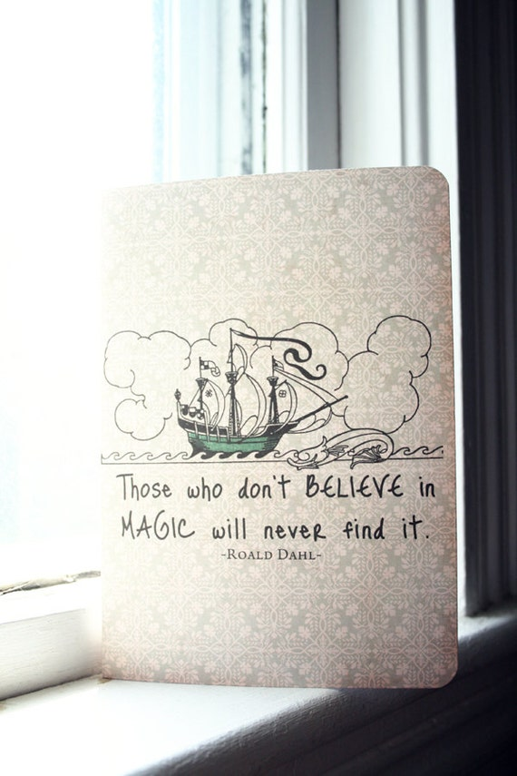 Roald Dahl Journal - Believing in Magic