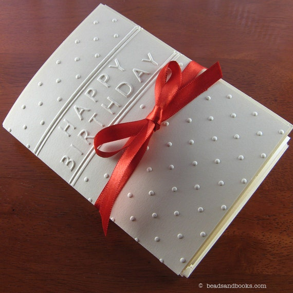 Birthday Card Set (Polka Dot)