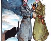 Christmas Truce Art Print