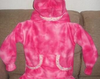 Beautiful Warm Handmade Fleece Alaska Native Child Kuspuk Size S,M,L   Made to Order