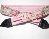 """Freshly Made, """"Soft Vintage Summer Roses"""",very old fabric (darker than photo)"""