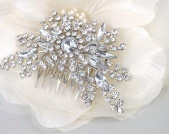 Mary-Rhinestone Bridal Comb
