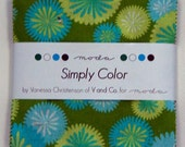 Simply Color by Vanessa Christenson for Moda, charm pack