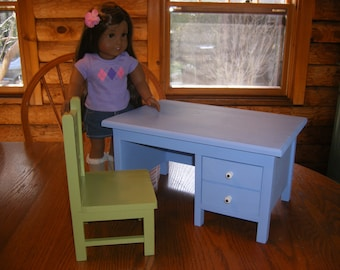 Teachers Desk with Chair for 18 inch Doll