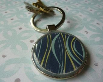 Stripes Keychain
