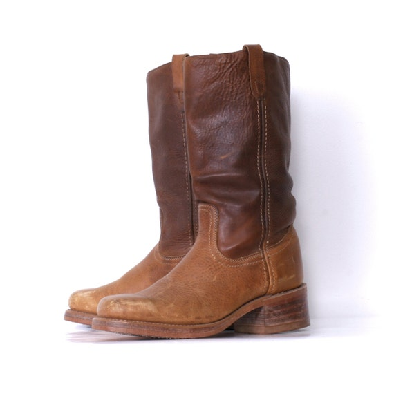 Vintage Snub Nose Boots by Texas