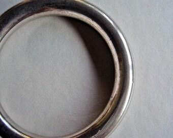 Vintage Silverplate Bangle