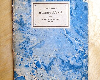 "Vintage Nature Book - ""Romney Marsh"" by John Piper"