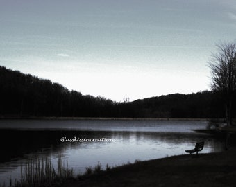 Twin Lakes- Upper and lower lakes- Fine Art Photography Set of 2 Prints  8 x 10""