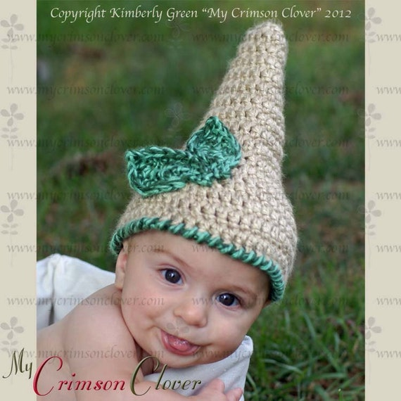 Baby Hat Pattern Crochet - Gnome Hat
