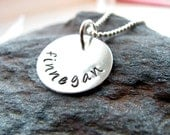 Personalized Jewelry - Mommy Necklace - Sterling Silver Personalized Necklace - Best Seller