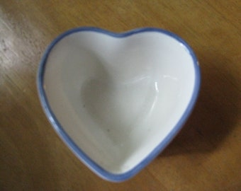 Vintage Heart Shaped Dish by PFALTZGRAFF, USA