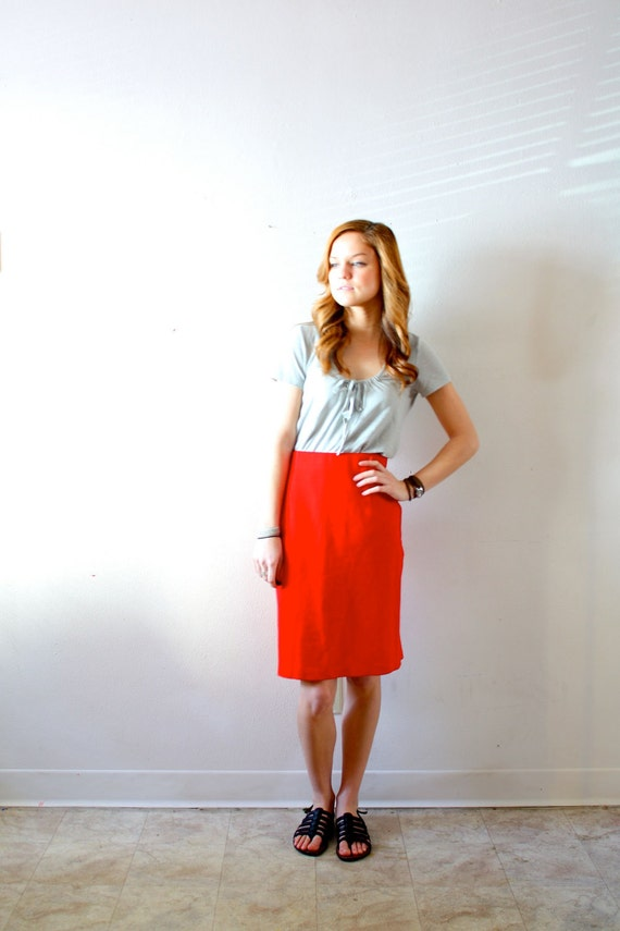50% OFF Vintage red skirt