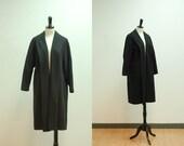 vintage// 1950s Cashmere Swing Coat 5335