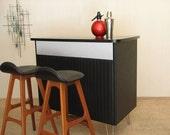 Mid Century Modern Furniture - Designer Bar Stools by Erik Buck. set of 2 danish teak seats. 1950s