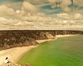 25% OFF Beach photography,summer photo,ocean, Contemplation, 8x10 fine art photography print