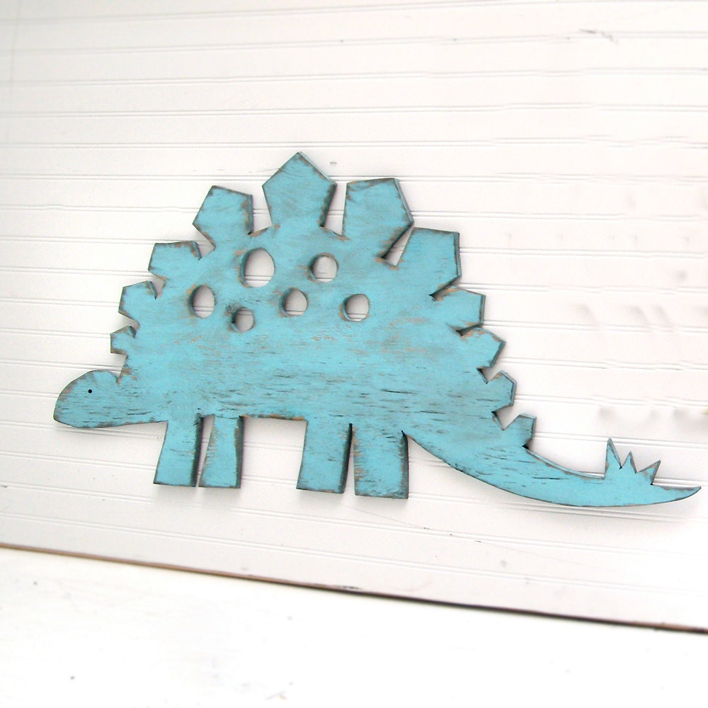 stegosaurus large sign dinosaur wall art sign kids