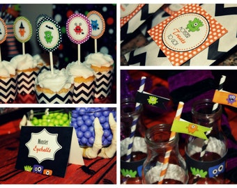 Monster Bash Party Printable Package