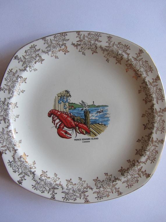 Souvenir Plate from Prince Edward Island Canada