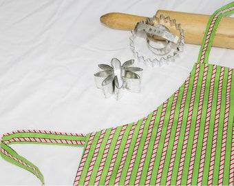 Candy Cane Stripes Child Apron