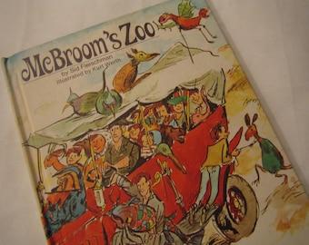 Vintage McBrooms  Zoo Book